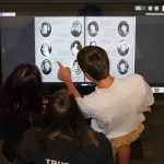 Meridian High School Uses Digital Trophy Case to Display Decades of Yearbooks