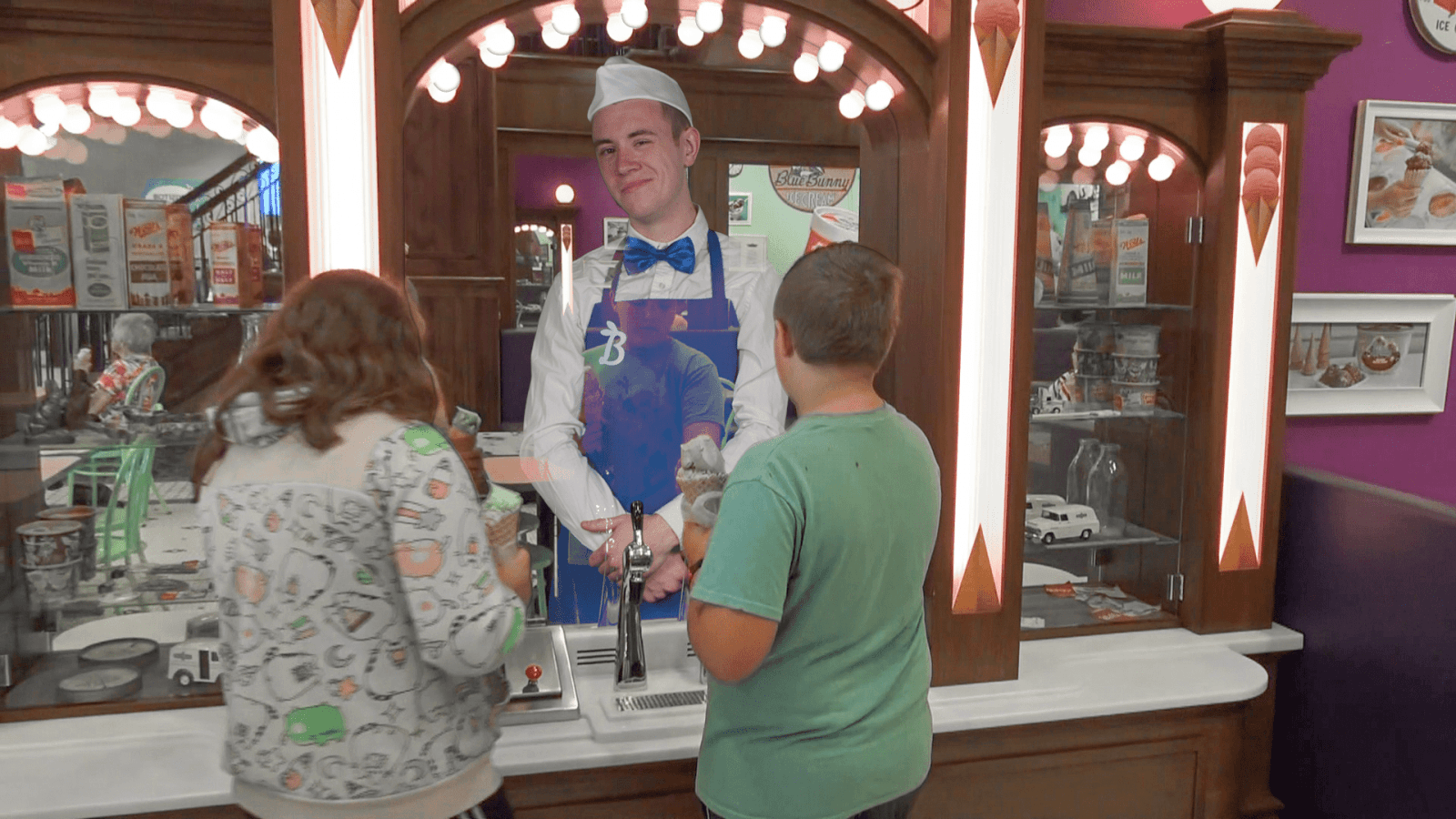 Wells Interactive Soda Fountain at their visitor center