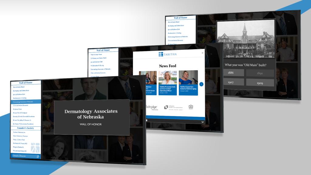 Tabitha Health's digital donor board screenshots
