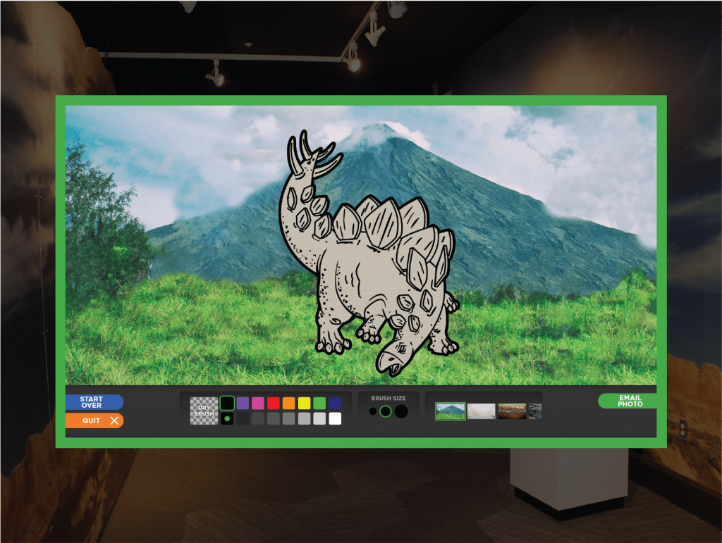 Paint-a-Dino Screenshot