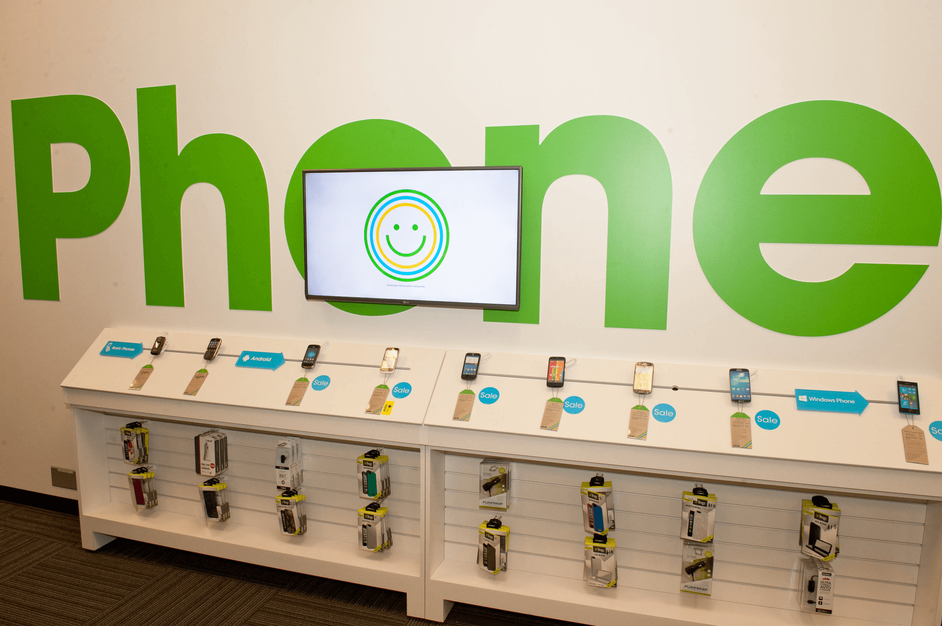 Digital Signage in Cricket Wireless