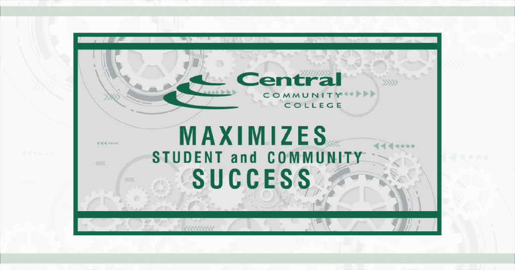 Central Community College's digital signage provides an outlet for distributing information to faculty and students.