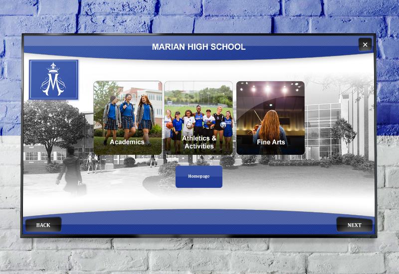 Educational Digital Signage